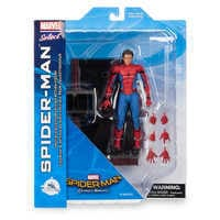 Image of Spider-Man Action Figure - Marvel Select - Spider-Man: Homecoming - 7'' # 11