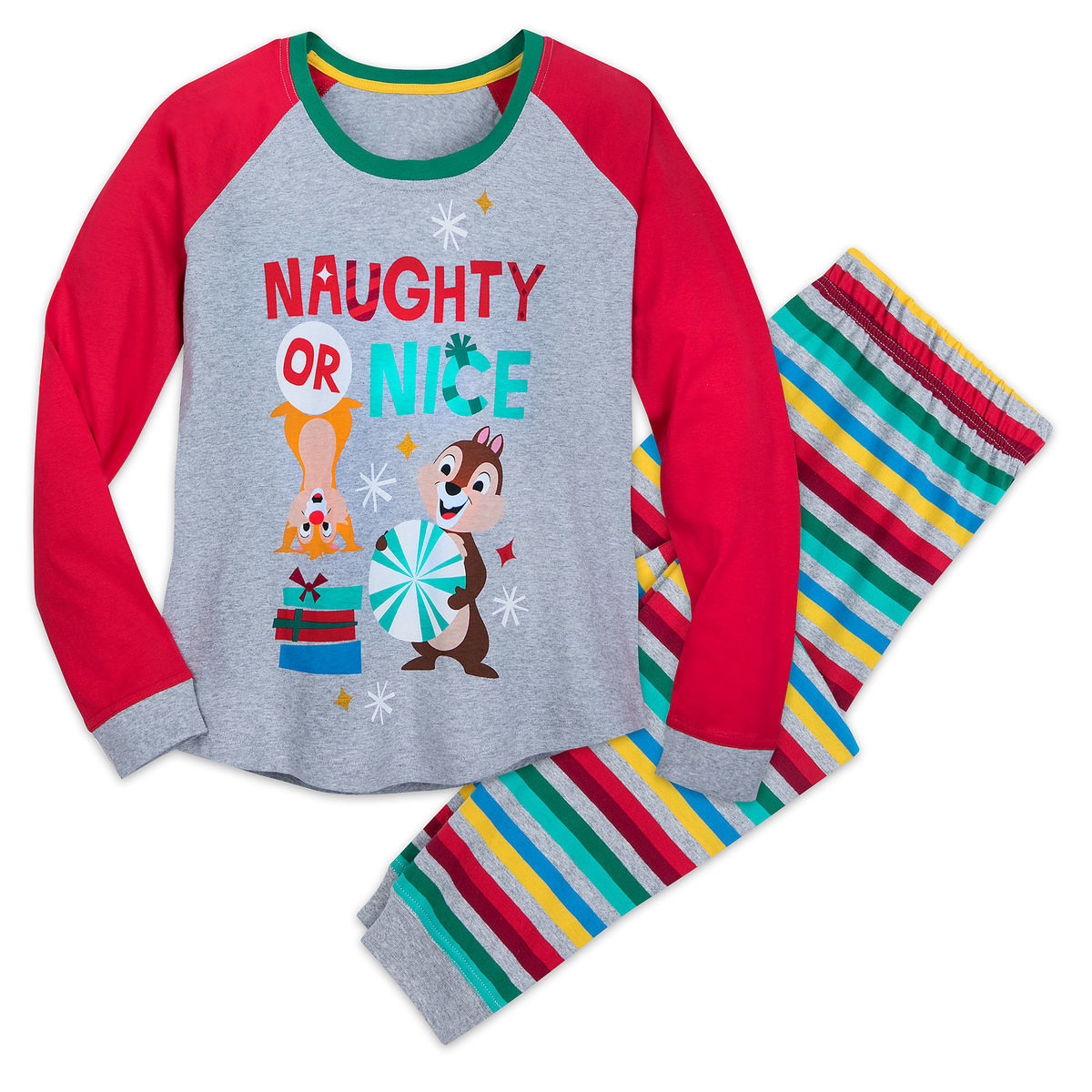 c9a837452ff6 Chip  n Dale Holiday PJ Set for Women