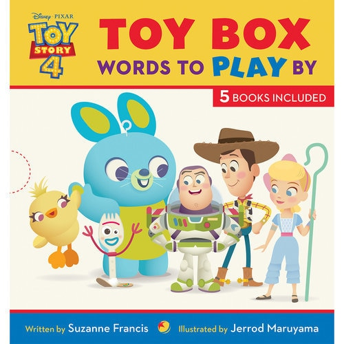 Toy Story 4: Toy Box Words to Play By Book