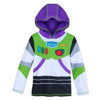 Image of Buzz Lightyear Hooded Rash Guard for Kids # 1