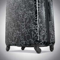 Image of Mickey Mouse Line Art Rolling Luggage by American Tourister - Large # 5