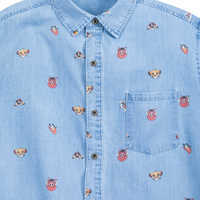 Image of The Lion King Chambray Shirt for Men # 4