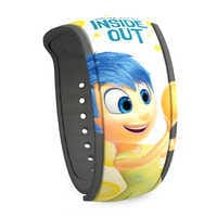 Image of Joy and Sadness MagicBand 2 - PIXAR Inside Out # 1