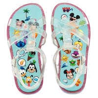 Image of Disney Emoji Flip Flops for Kids # 2