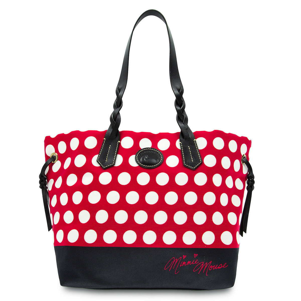Product Image Of Minnie Mouse Rocks The Dots Tote By Dooney Bourke 1