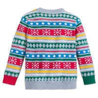 Image of Mickey Mouse Family Holiday Sweater for Boys # 3