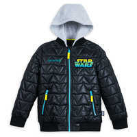 Image of Darth Vader Hooded Jacket for Kids - Personalizable # 1