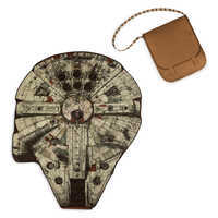 Image of Millennium Falcon Picnic Blanket and Chewbacca Messenger Bag - Star Wars # 5