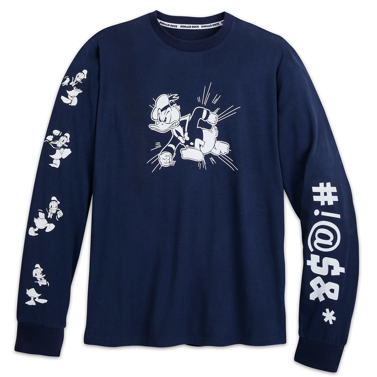3dca77b33 Product Image of Donald Duck Long Sleeve Shirt for Men # 1