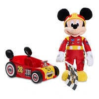 Image of Mickey and the Roadster Racers Talking Mickey Mouse Plush and Car # 1