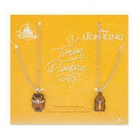Image of Timon and Pumbaa Friendship Necklace Set - The Lion King # 3