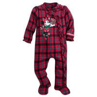 Minnie Mouse Happy Holidays Sleeper for Baby - Walt Disney World