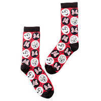 Image of Minnie Mouse Smiles and Bows Socks - Women # 1
