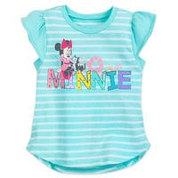 Minnie Mouse and Figaro Fashion T-Shirt for Girls