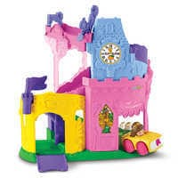 Image of Disney Princess Light & Twist Wheelies Tower - Fisher Price - Belle # 2