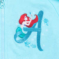 Image of Ariel with Fantasyland Castle Hoodie for Girls # 3