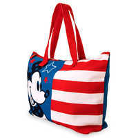 Image of Mickey Mouse Americana Canvas Tote # 2