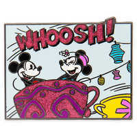 Image of Mickey and Minnie Mouse Mad Tea Party Pin # 1