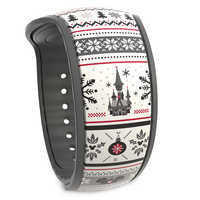Image of Fantasyland Castle Holiday MagicBand 2 # 1