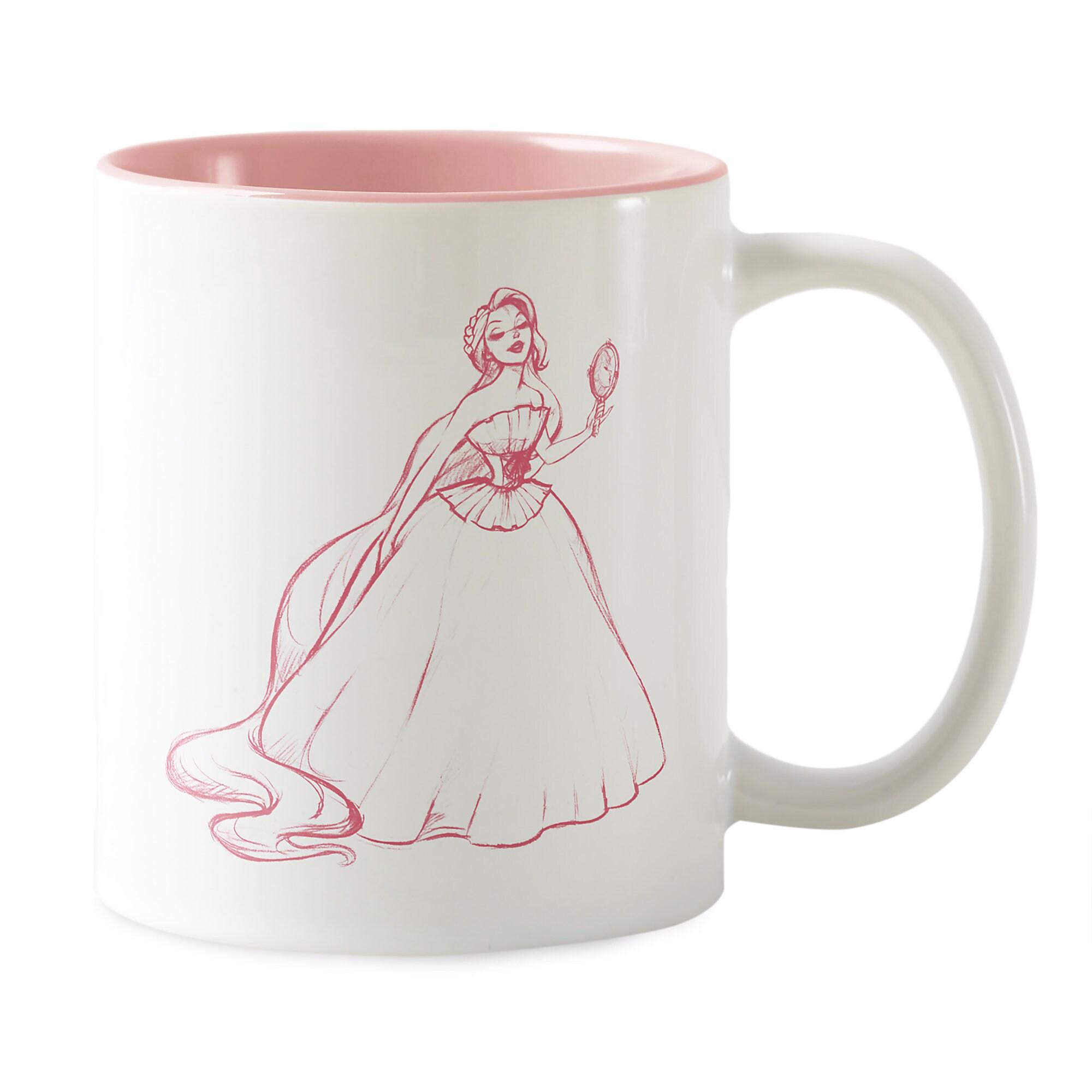 Rapunzel Mug - Art of Princess Designer Collection