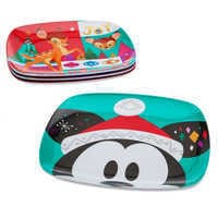 Image of Mickey Mouse and Friends Holiday Cheer Plate Set - 4-Pc. # 2