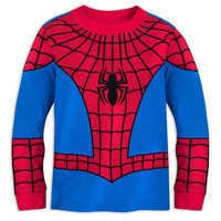 Image of Spider-Man Costume PJ PALS for Boys # 2