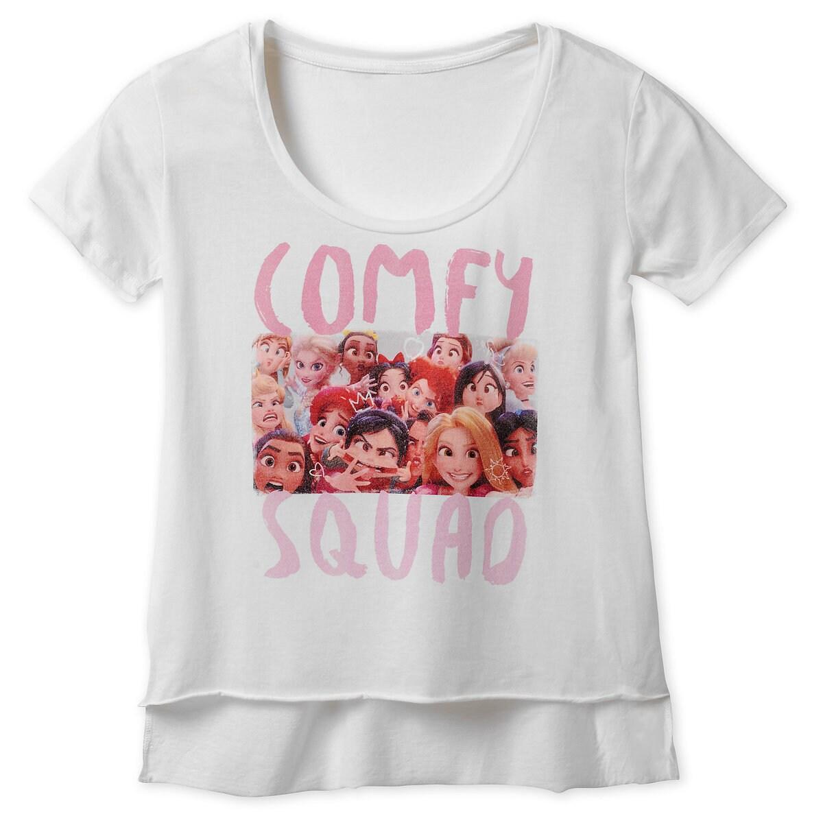 124cbeccda2ca Product Image of Vanellope and Disney Princesses ''Comfy Squad'' T-Shirt