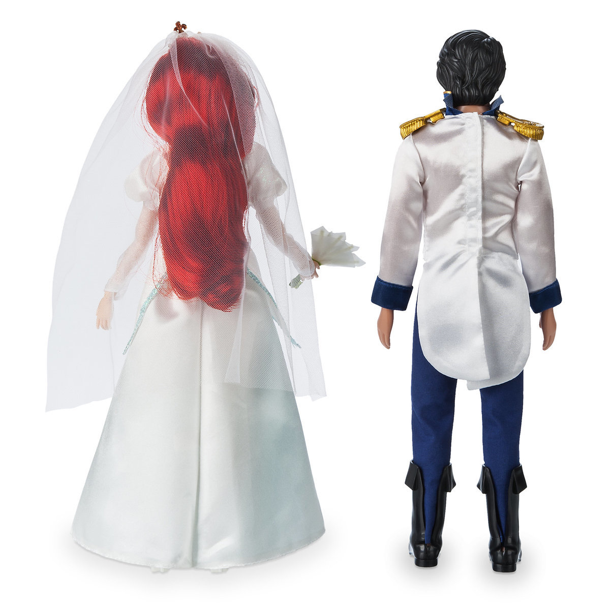c955b6c16d349 Product Image of Ariel and Eric Classic Wedding Doll Set - The Little  Mermaid # 2