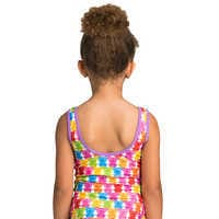 Image of Mickey and Minnie Mouse Swimsuit and Shorts Set for Girls # 11