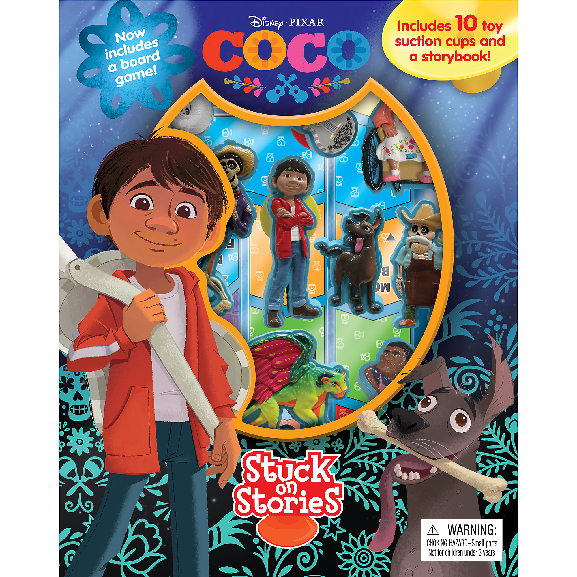 Coco: Stuck on Stories Book