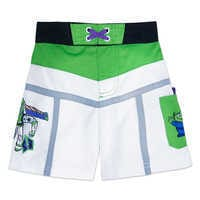 Image of Buzz Lightyear Swim Trunks for Kids # 1