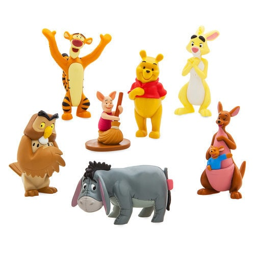 winnie the pooh figure playset shopdisney. Black Bedroom Furniture Sets. Home Design Ideas