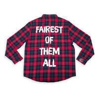Image of Snow White Flannel Shirt for Adults by Cakeworthy # 1