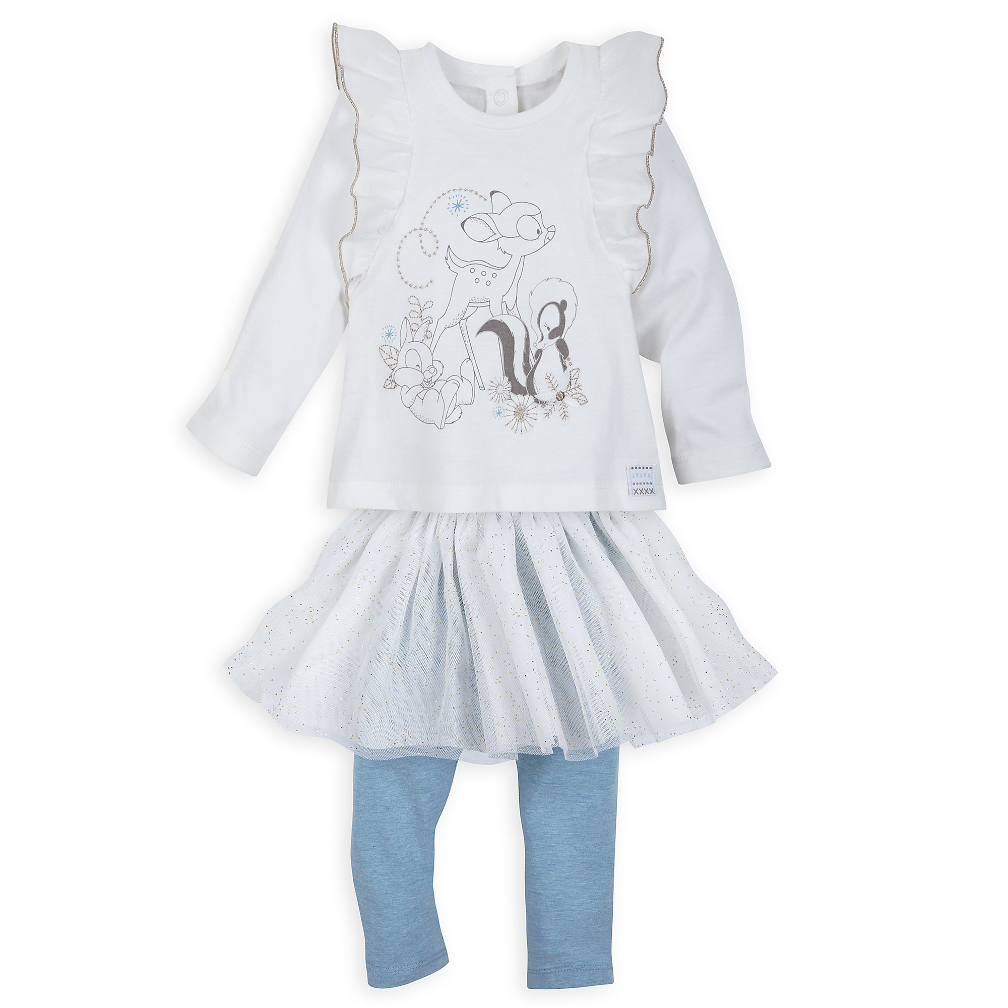 Bambi and Friends T-Shirt and Leggings Set for Baby