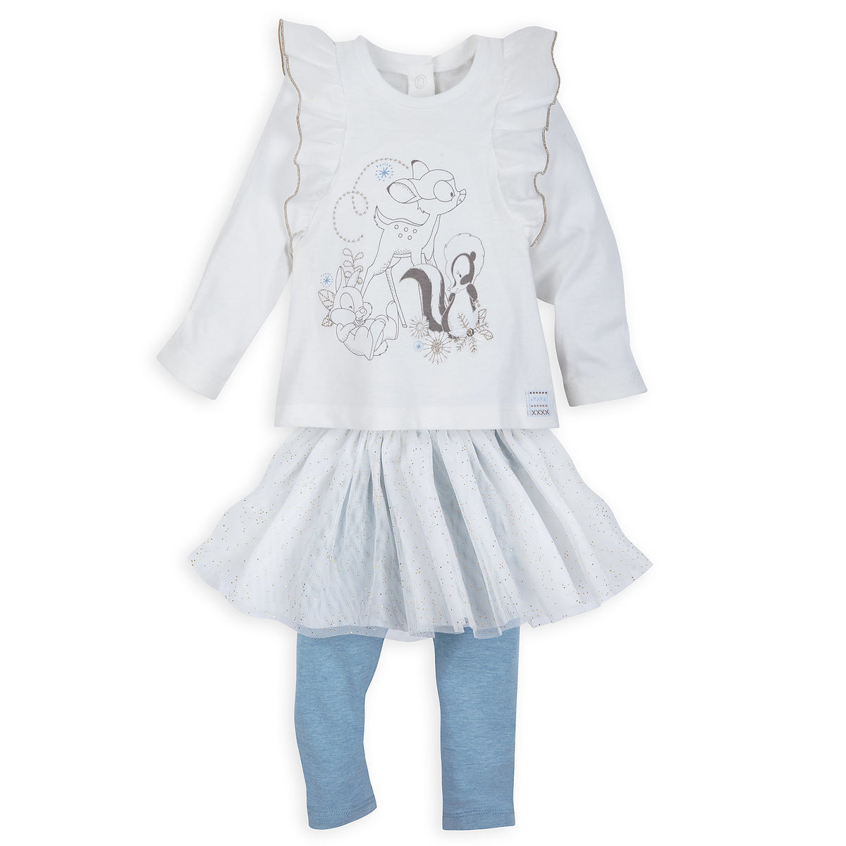 f321cf6c43a Product Image of Bambi and Friends T-Shirt and Leggings Set for Baby   1