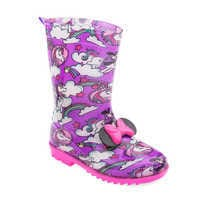 Image of Minnie Mouse Rain Boots for Kids # 1