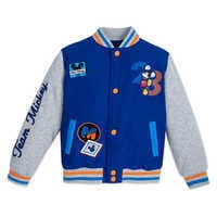 Image of Mickey Mouse Varsity Jacket for Kids # 1