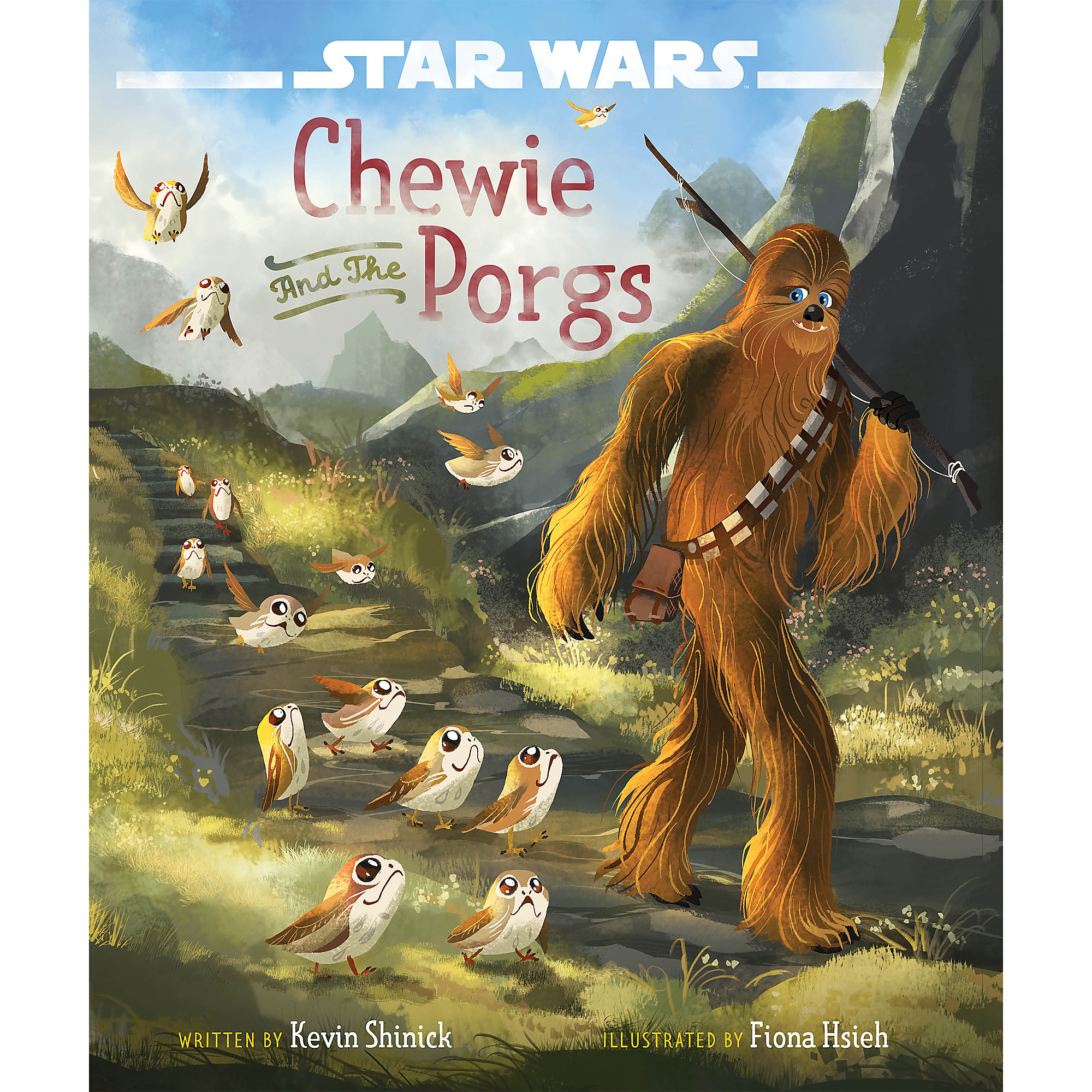 Star Wars: Chewie and the Porgs Book