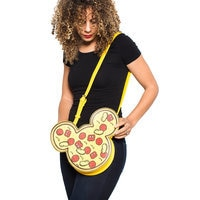 Mickey Mouse Pizza Crossbody Bag by Cakeworthy