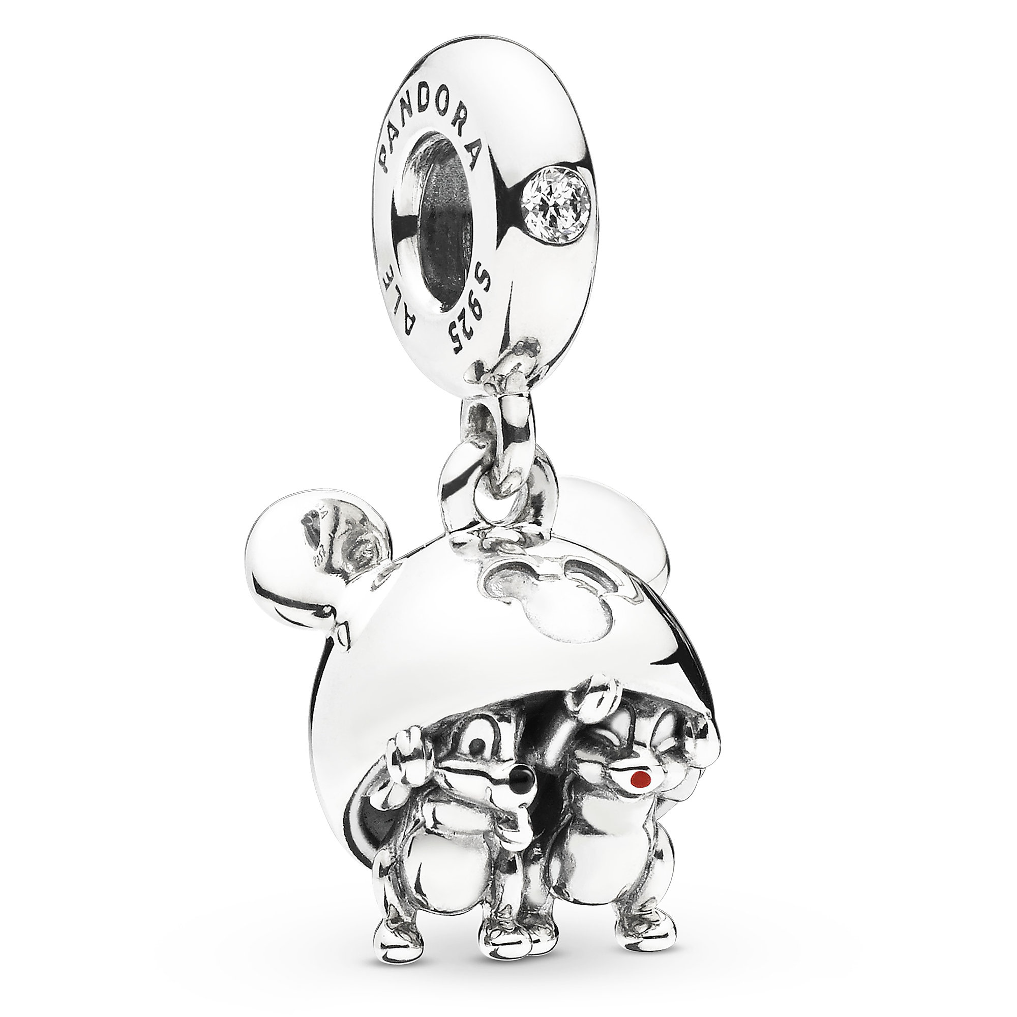 419da1545 Chip 'n Dale Mickey Ear Hat Charm by Pandora Jewelry is available online  for purchase