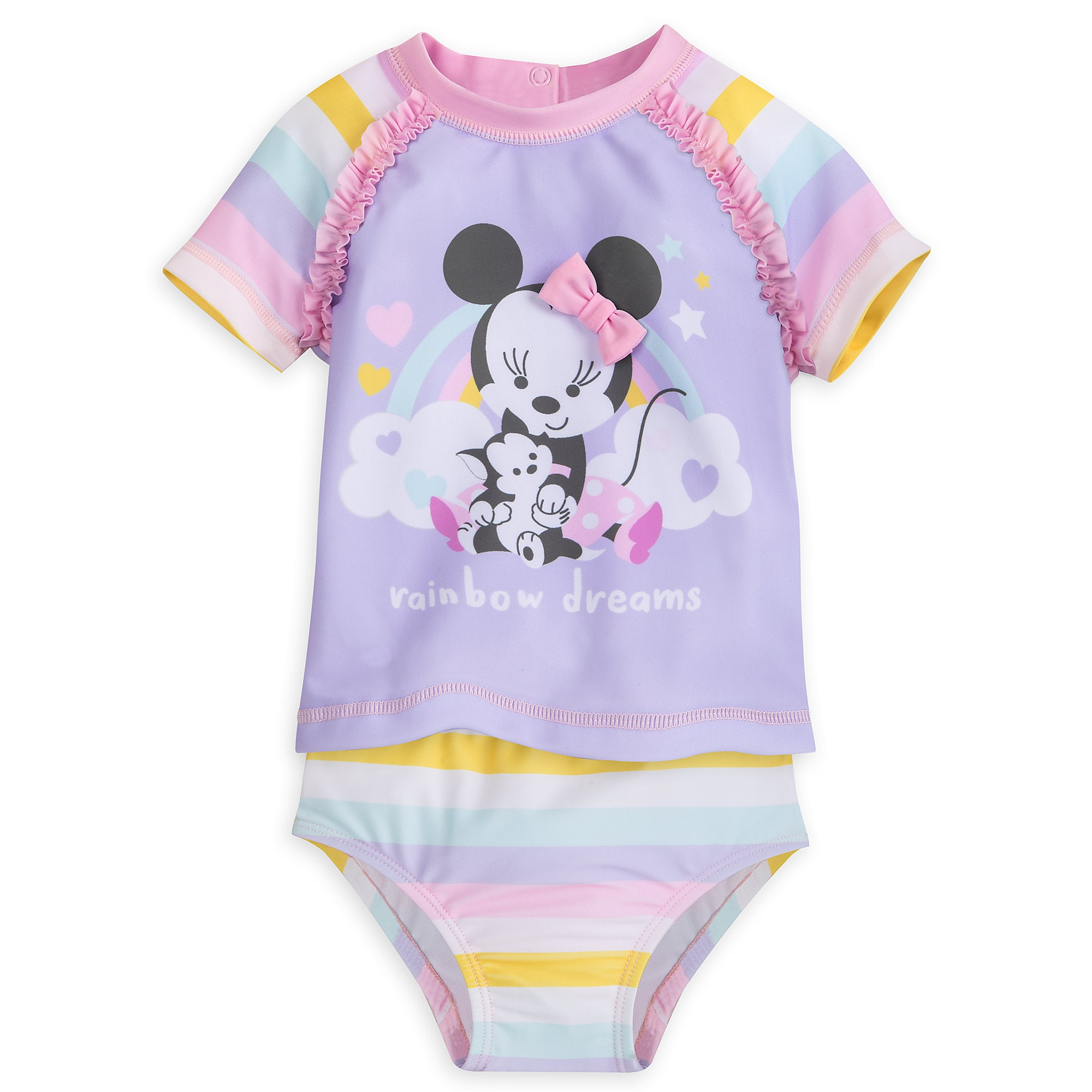 Minnie Mouse Two Piece Swimsuit for Baby