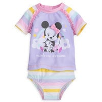 Image of Minnie Mouse Two-Piece Swimsuit for Baby # 1