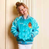 Image of Moana Varsity Jacket for Girls - Personalizable # 2