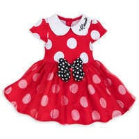 Image of Minnie Mouse Costume Bodysuit for Baby - Red # 3