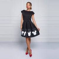 Image of Mickey Mouse Icon Dress for Women by Sugarbird # 5