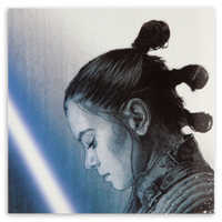 Image of Rey Pin & Lithograph Set - Star Wars: The Last Jedi - Limited Edition # 3