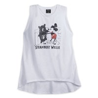 Mickey Mouse Steamboat Willie Tank Top for Women by David Lerner
