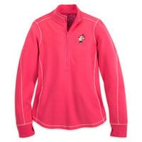 Minnie Mouse Fleece Top for Women by Tommy Bahama - Salmon