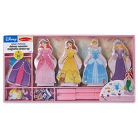 Image of Disney Princess Deluxe Wooden Magnetic Dress-Up Set by Melissa & Doug # 2