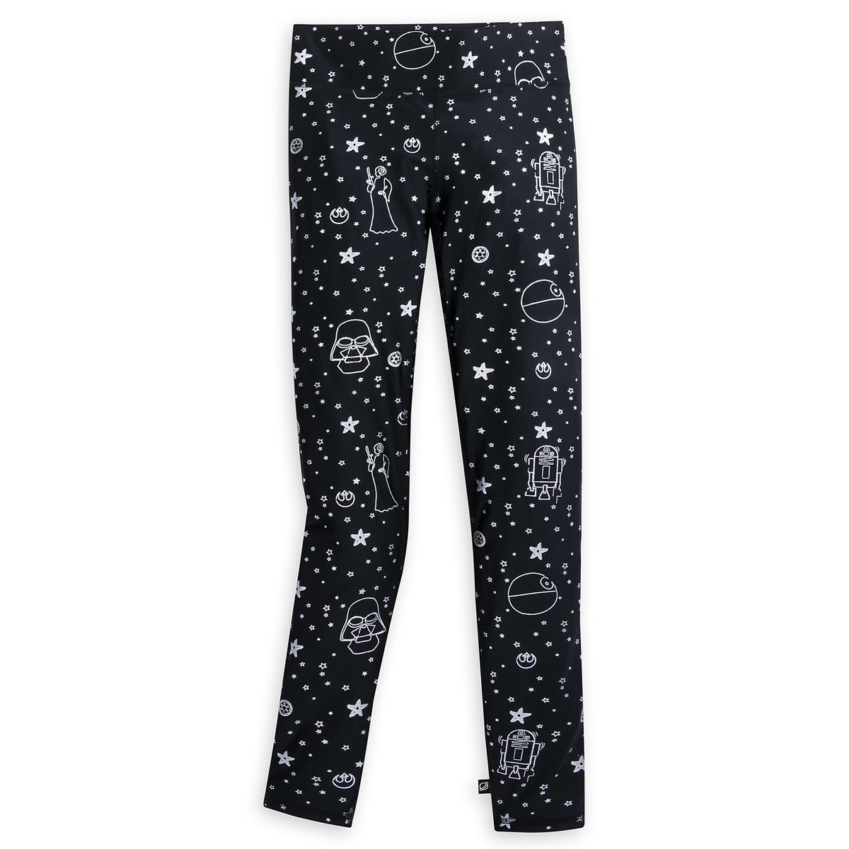760ab90143878 Product Image of Star Wars Silver Foil Leggings for Women by Terez # 1